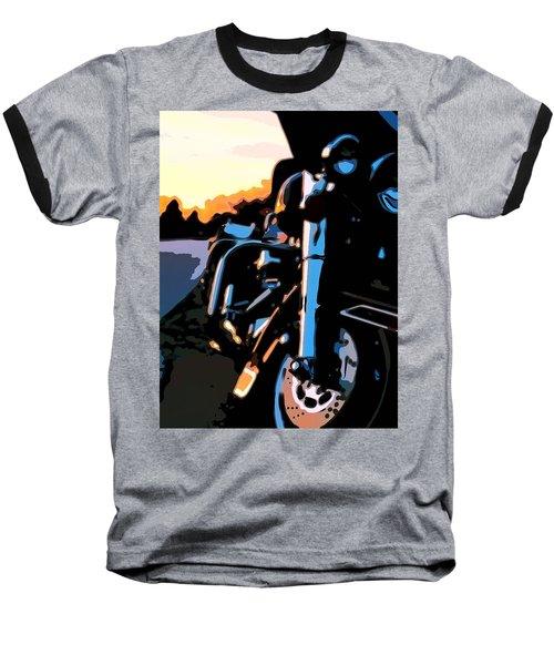 Classic Harley Baseball T-Shirt