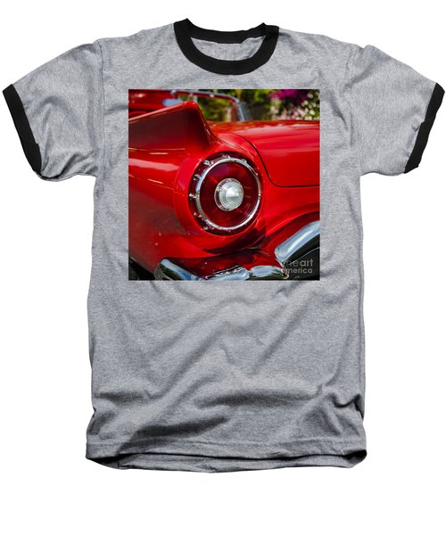 Baseball T-Shirt featuring the photograph 1957 Ford Thunderbird Classic Car  by Jerry Cowart