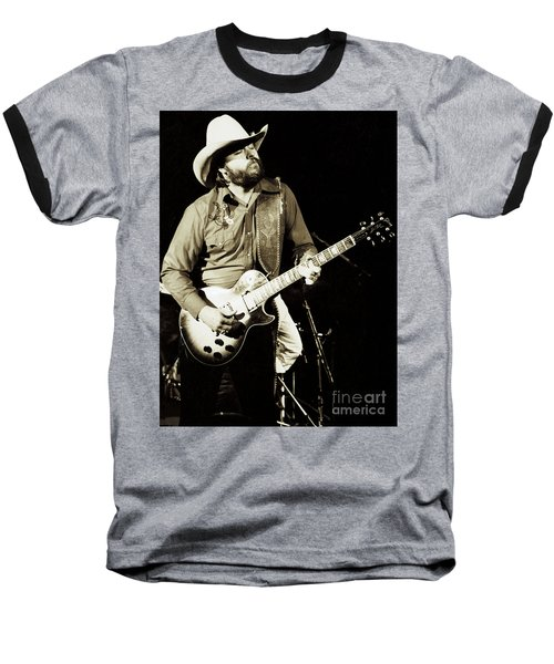 Classic Toy Caldwell Of The Marshall Tucker Band At The Cow Palace-new Years Concert  Baseball T-Shirt