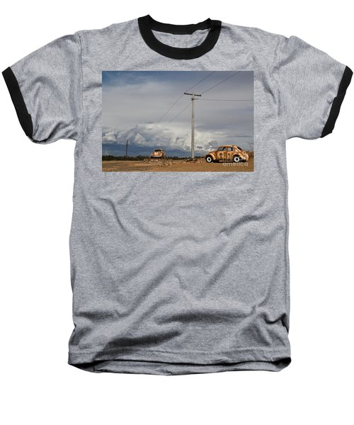Baseball T-Shirt featuring the photograph Classic Volkswagen Beetle by Lana Enderle