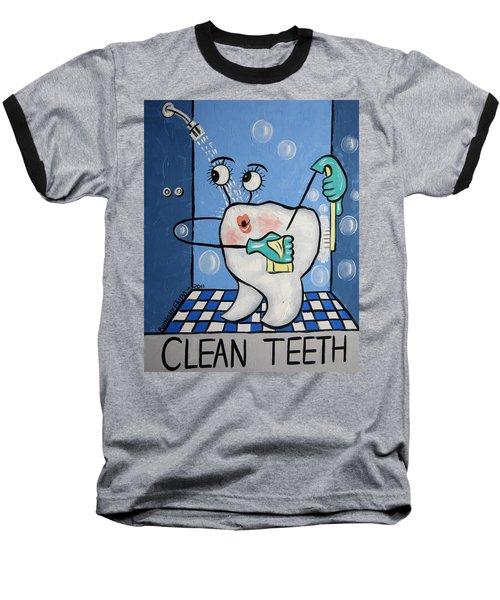Clean Tooth Baseball T-Shirt