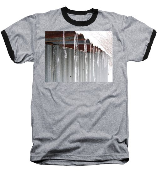 Baseball T-Shirt featuring the photograph Clear As Glass by Tiffany Erdman