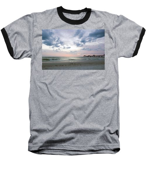 Clearwater Fishing Pier Baseball T-Shirt