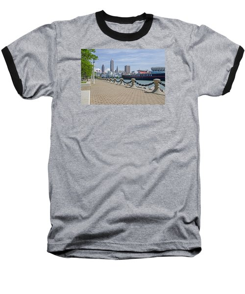 Cleveland Lake Front Baseball T-Shirt