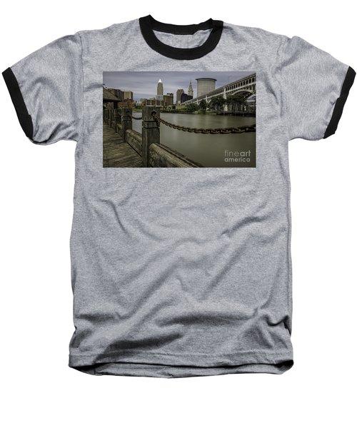 Cleveland Ohio Baseball T-Shirt by James Dean