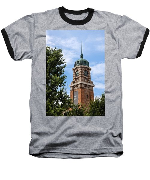 Baseball T-Shirt featuring the photograph Cleveland West Side Market Tower by Dale Kincaid