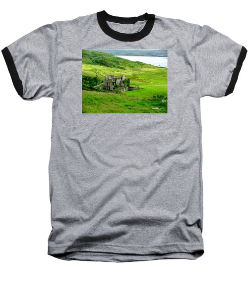 Clifden Castle Baseball T-Shirt
