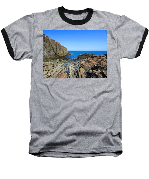 Cliff House Maine Coast Baseball T-Shirt