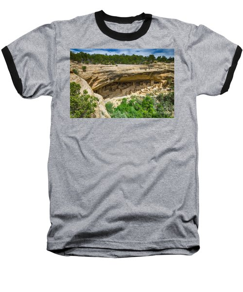 Baseball T-Shirt featuring the photograph Cliff Palace by Juergen Klust