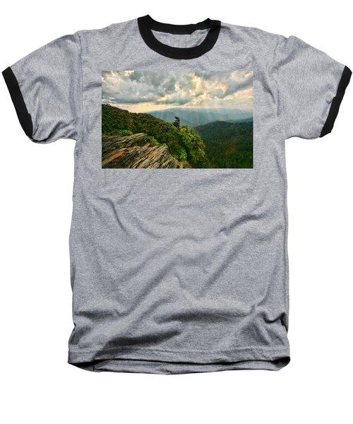 Cliff Tops At Mt. Leconte Gsmnp Baseball T-Shirt