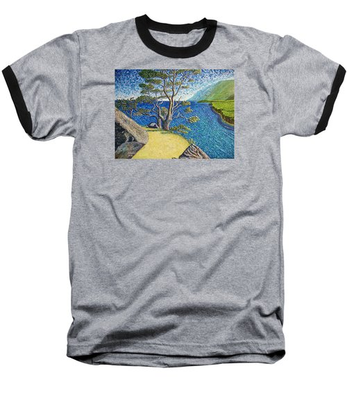 Baseball T-Shirt featuring the painting Cliff by Viktor Lazarev