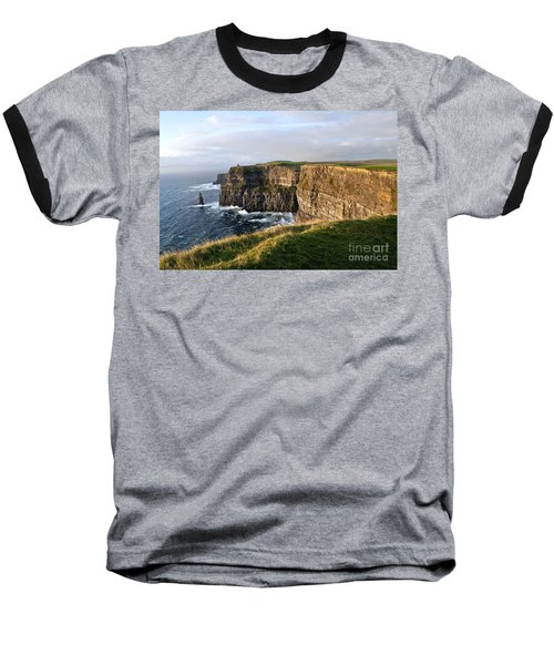 Cliffs Of Moher Evening Light Baseball T-Shirt