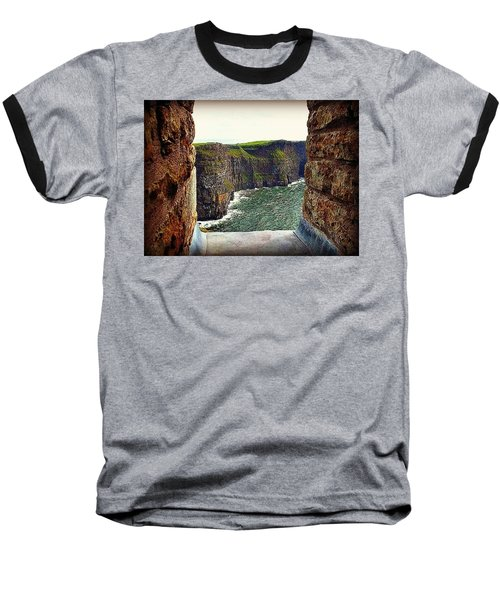 Cliffs Of Moher From O'brien's Tower Baseball T-Shirt