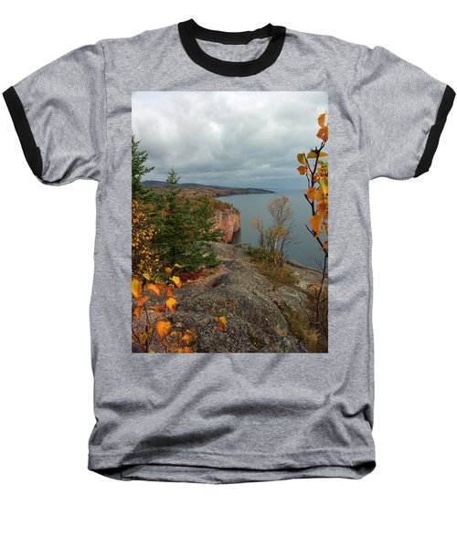 Cliffside Fall Splendor Baseball T-Shirt