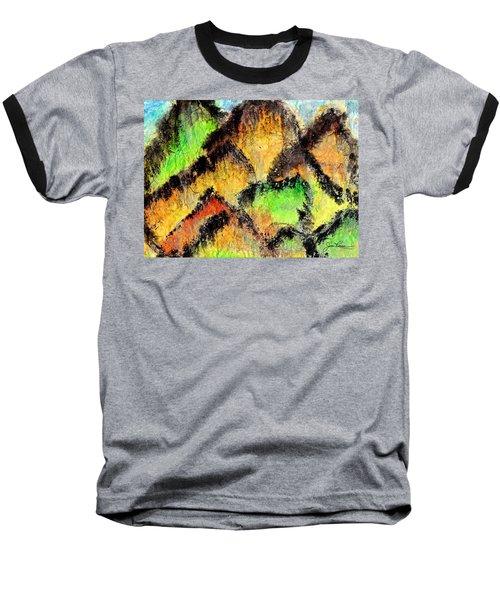 Climb Every Mountain Baseball T-Shirt