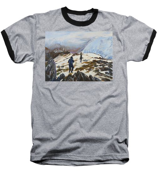 Climbers - Painting Baseball T-Shirt