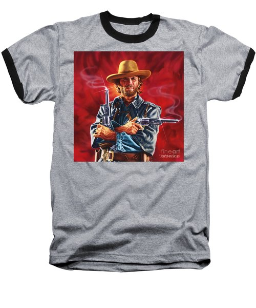 Clint Eastwood Baseball T-Shirt