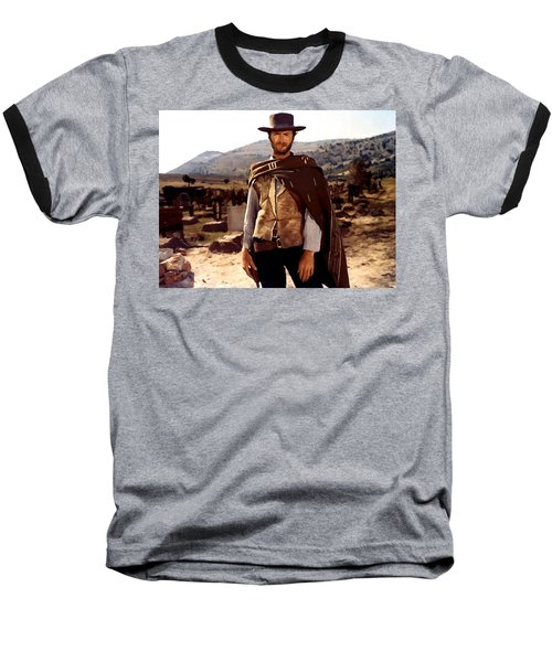 Clint Eastwood Outlaw Baseball T-Shirt