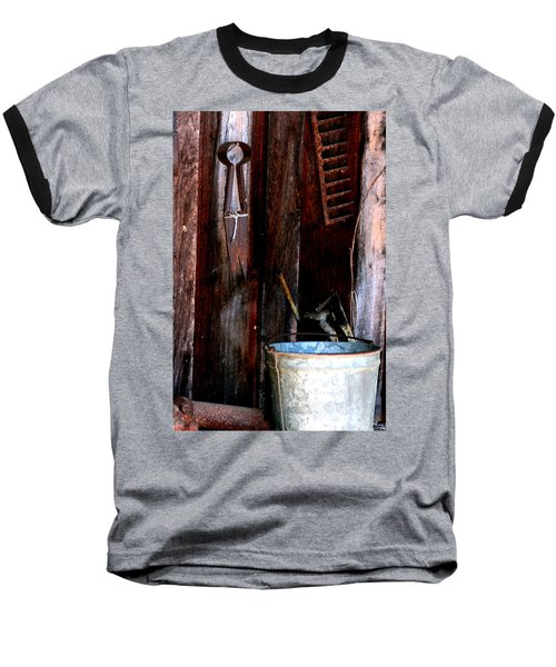 Baseball T-Shirt featuring the photograph Clippers And The Bucket by Lesa Fine