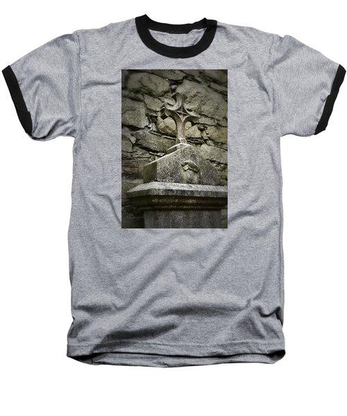 Cloister Cross At Jerpoint Abbey Baseball T-Shirt