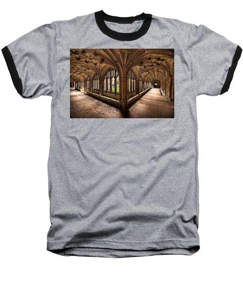 Cloisters At Lacock Abbey Baseball T-Shirt