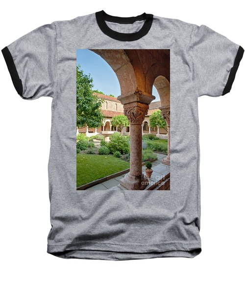 Cloisters Courtyard Baseball T-Shirt