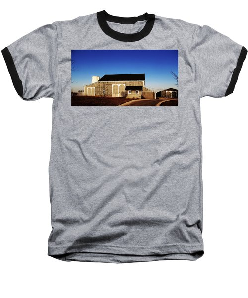 Baseball T-Shirt featuring the photograph Closed For The Day by Tina M Wenger