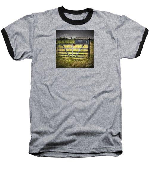Baseball T-Shirt featuring the photograph Closed Down by Jean OKeeffe Macro Abundance Art