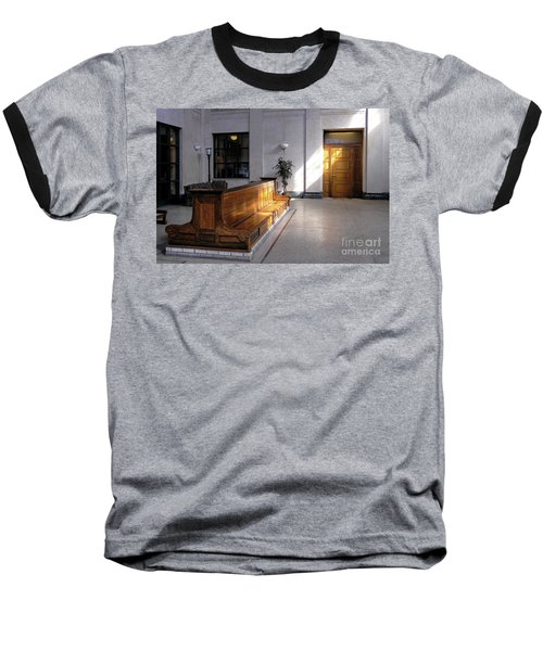 Closed Railroad Station - Johnstown Pa Baseball T-Shirt
