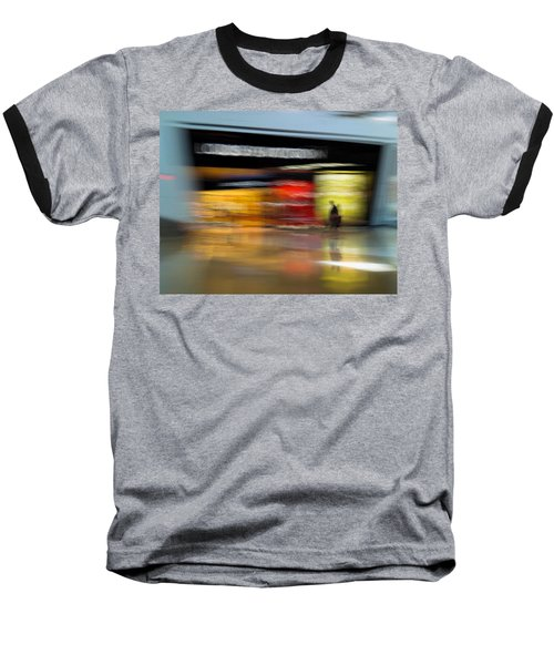 Baseball T-Shirt featuring the photograph Closing In by Alex Lapidus