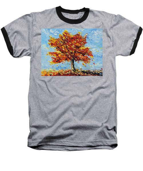 Baseball T-Shirt featuring the painting Clothed With Joy by Meaghan Troup