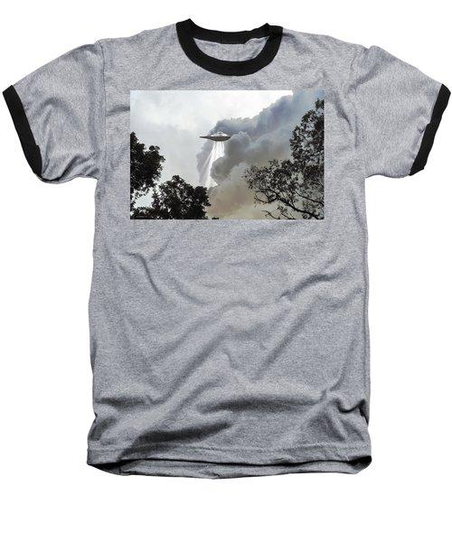 Cloud Cover Baseball T-Shirt
