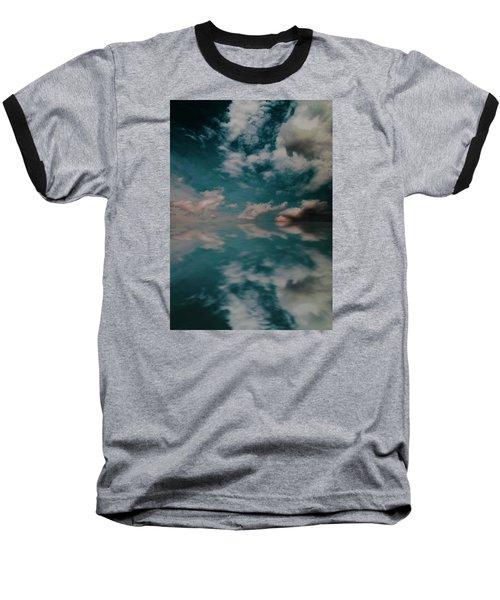 Cloud Reflections Baseball T-Shirt by John Stuart Webbstock