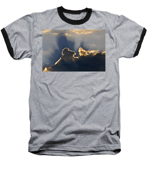 Baseball T-Shirt featuring the photograph Cloud Shadows by Charlotte Schafer