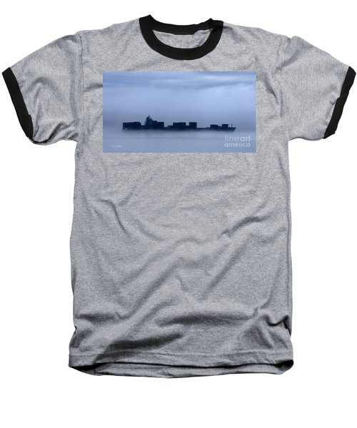 Cloud Ship Baseball T-Shirt