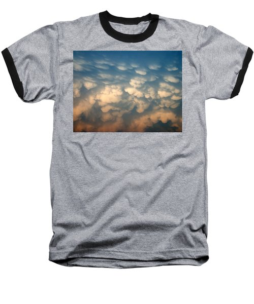 Cloud Texture Baseball T-Shirt