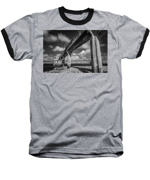 Clouds Above The Bridge Baseball T-Shirt