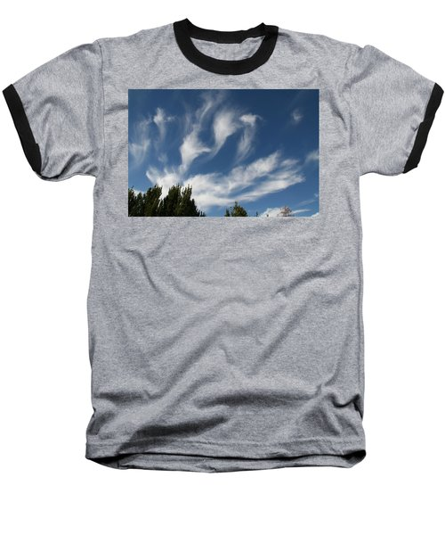 Baseball T-Shirt featuring the photograph Clouds by David S Reynolds