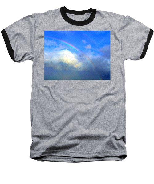 Clouds In Ireland Baseball T-Shirt by Bruce Nutting