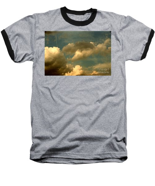 Clouds Of Yesterday Baseball T-Shirt by Anita Lewis