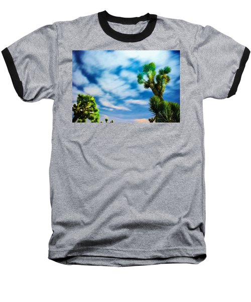 Baseball T-Shirt featuring the photograph Clouds On The Move by Angela J Wright