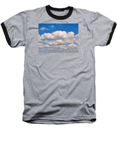 Clouds Over Lake Pontchartrain Baseball T-Shirt