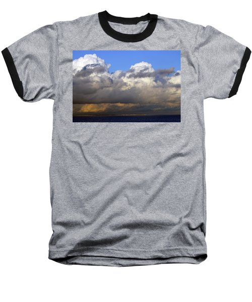 Clouds Over Portsmouth Baseball T-Shirt