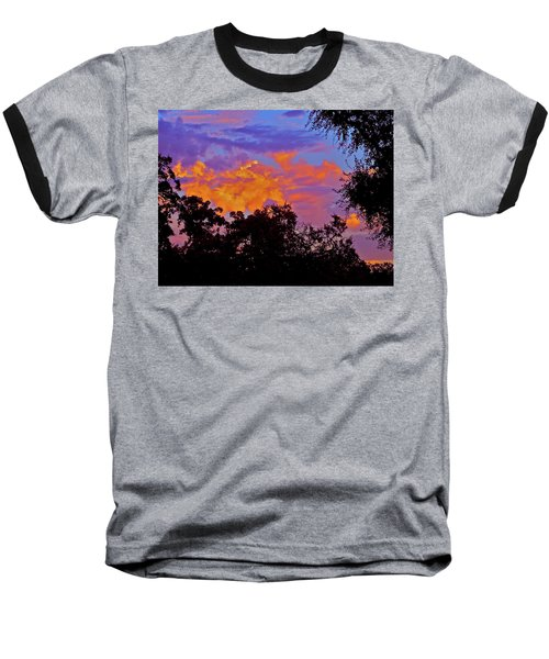 Baseball T-Shirt featuring the photograph Clouds by Pamela Cooper