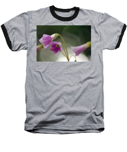 Baseball T-Shirt featuring the photograph Clover Bells by Greg Allore