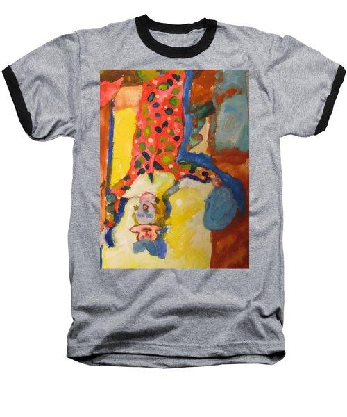 Clown Girl Baseball T-Shirt