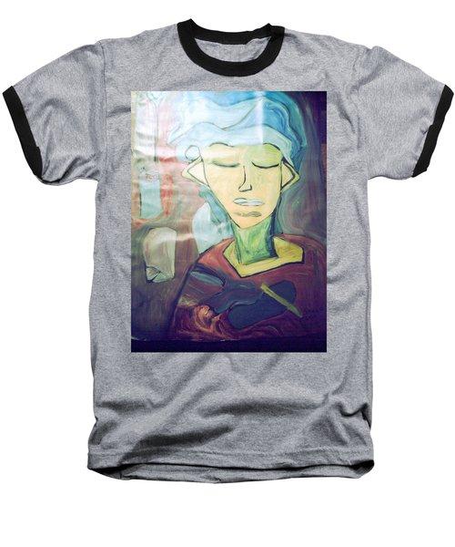 Cluttered Mind Baseball T-Shirt