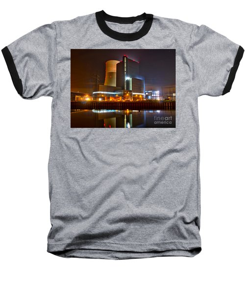 Coal Fired Powerhouse Baseball T-Shirt