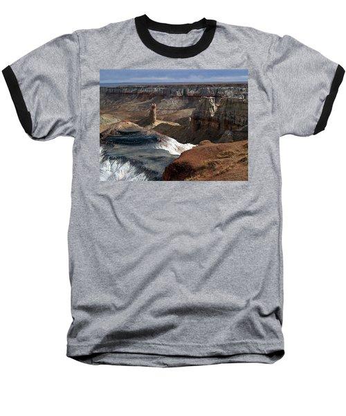 Coal Mine Mesa 09 Baseball T-Shirt by Jeff Brunton