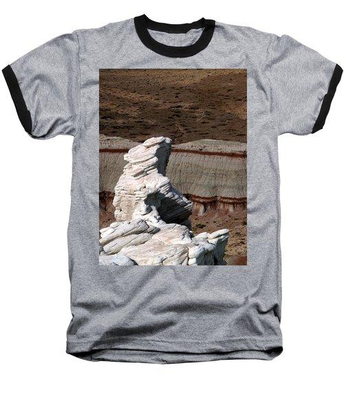 Coal Mine Mesa 14 Baseball T-Shirt by Jeff Brunton